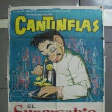 Cine: CDO 2575 EL SUPERSABIO CANTINFLAS POSTER ORIGINAL 70X100 ESPAÑOL. Lote 205685000