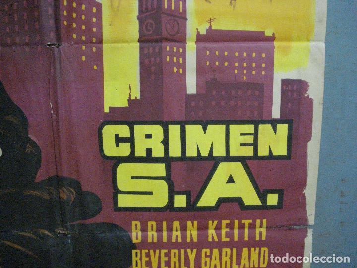 Cine: CDO 2601 CRIMEN S.A. BEVERLY GARLAND BRIAN KEITH FILM-NOIR POSTER ORIGINAL 70X100 ESTRENO LITOGRAFIA - Foto 8 - 205690376