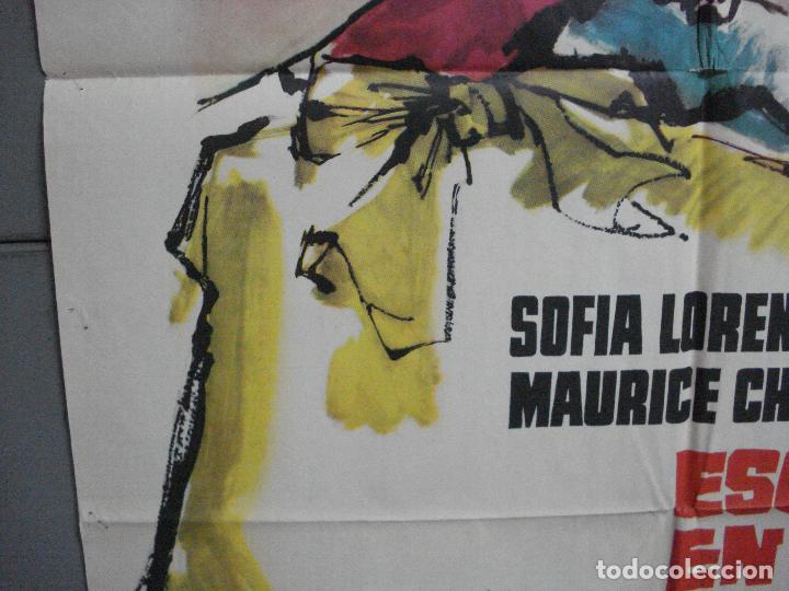 Cine: CDO 2603 ESCANDALO EN LA CORTE SOFIA LOREN MCP POSTER ORIGINAL 70X100 ESTRENO - Foto 4 - 205690863