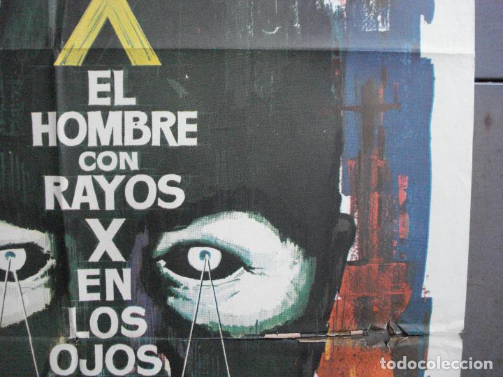 Cine: CDO 2618 EL HOMBRE CON RAYOS X EN LOS OJOS ROGER CORMAN RAY MILLAND POSTER ORIGINAL 70X100 ESTRENO B - Foto 7 - 205699512