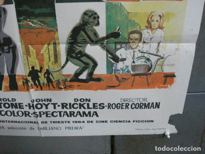 Cine: CDO 2618 EL HOMBRE CON RAYOS X EN LOS OJOS ROGER CORMAN RAY MILLAND POSTER ORIGINAL 70X100 ESTRENO B - Foto 9 - 205699512