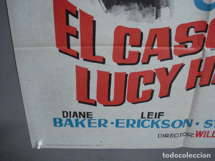 Cine: CDO 2623 EL CASO DE LUCY HARBIN JOAN CRAWFORD WILLIAM CASTLE HERMIDA POSTER ORIGINAL 70X100 ESTRENO - Foto 5 - 235593165