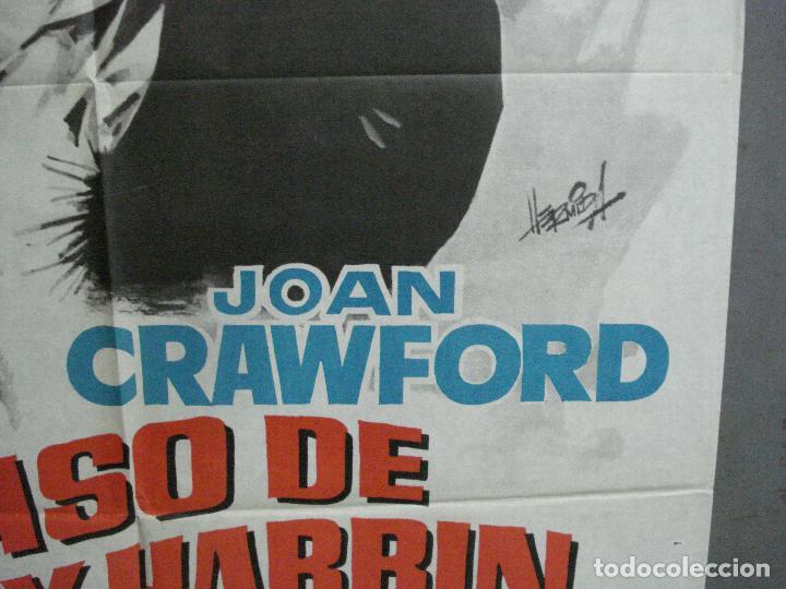 Cine: CDO 2623 EL CASO DE LUCY HARBIN JOAN CRAWFORD WILLIAM CASTLE HERMIDA POSTER ORIGINAL 70X100 ESTRENO - Foto 8 - 235593165