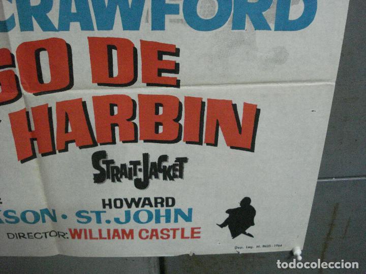Cine: CDO 2623 EL CASO DE LUCY HARBIN JOAN CRAWFORD WILLIAM CASTLE HERMIDA POSTER ORIGINAL 70X100 ESTRENO - Foto 9 - 235593165