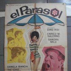 Cine: CDO 2641 EL PARASOL ENRICO MARIA SALERNO SANDRA MILO POSTER ORIGINAL 70X100 ESTRENO. Lote 205706243