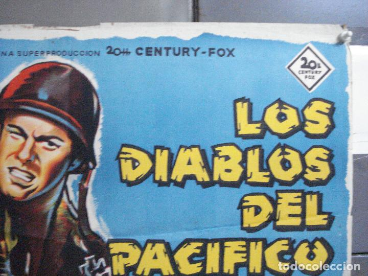 Cine: CDO 2643 LOS DIABLOS DEL PACIFICO ROBERT WAGNER POSTER ORIGINAL 70X100 ESTRENO LITOGRAFIA - Foto 6 - 205706815