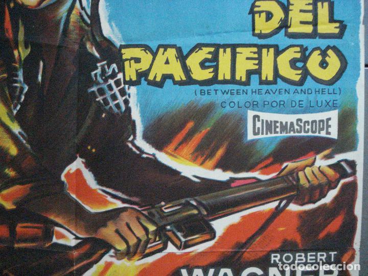 Cine: CDO 2643 LOS DIABLOS DEL PACIFICO ROBERT WAGNER POSTER ORIGINAL 70X100 ESTRENO LITOGRAFIA - Foto 7 - 205706815