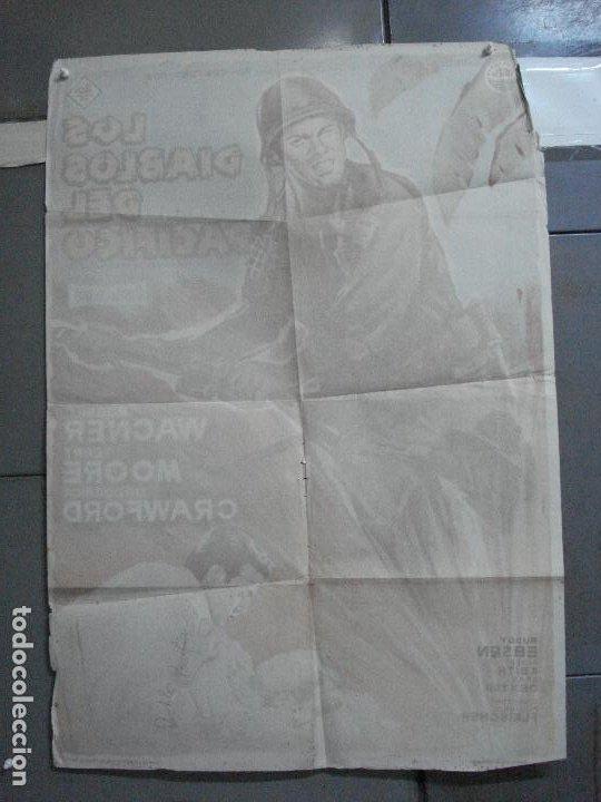 Cine: CDO 2643 LOS DIABLOS DEL PACIFICO ROBERT WAGNER POSTER ORIGINAL 70X100 ESTRENO LITOGRAFIA - Foto 10 - 205706815