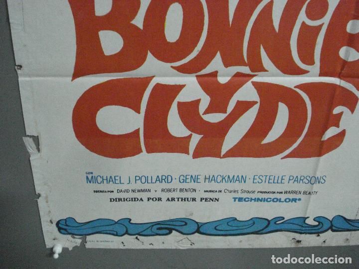 Cine: CDO 26478 BONNIE Y CLYDE WARREN BEATTY FAYE DUNAWAY MAC POSTER ORIGINAL 70X100 ESTRENO - Foto 5 - 205709140