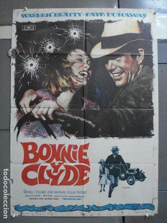 CDO 26478 BONNIE Y CLYDE WARREN BEATTY FAYE DUNAWAY MAC POSTER ORIGINAL 70X100 ESTRENO (Cine - Posters y Carteles - Acción)