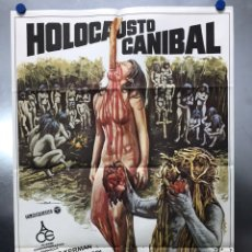 Cine: POSTER - HOLOCAUSTO CANIBAL, RUGGERO DEODATO - AÑO 1980. Lote 205712411