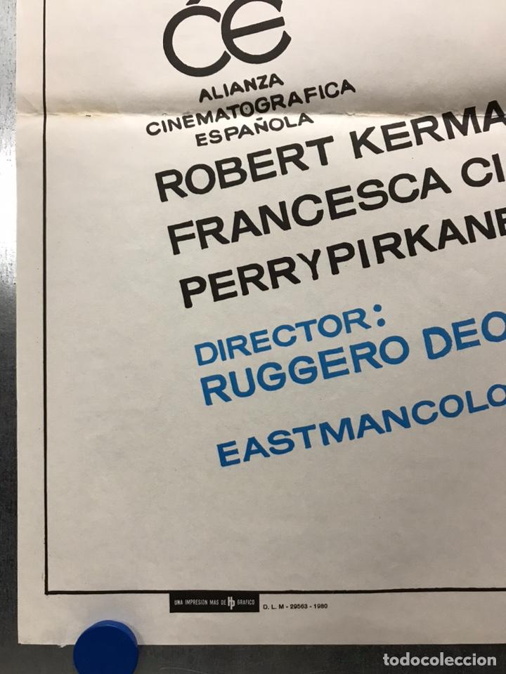 Cine: POSTER - HOLOCAUSTO CANIBAL, RUGGERO DEODATO - AÑO 1980 - Foto 3 - 205712411