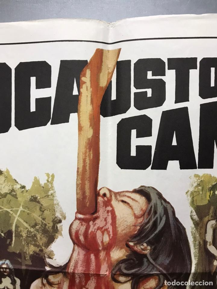 Cine: POSTER - HOLOCAUSTO CANIBAL, RUGGERO DEODATO - AÑO 1980 - Foto 12 - 205712411