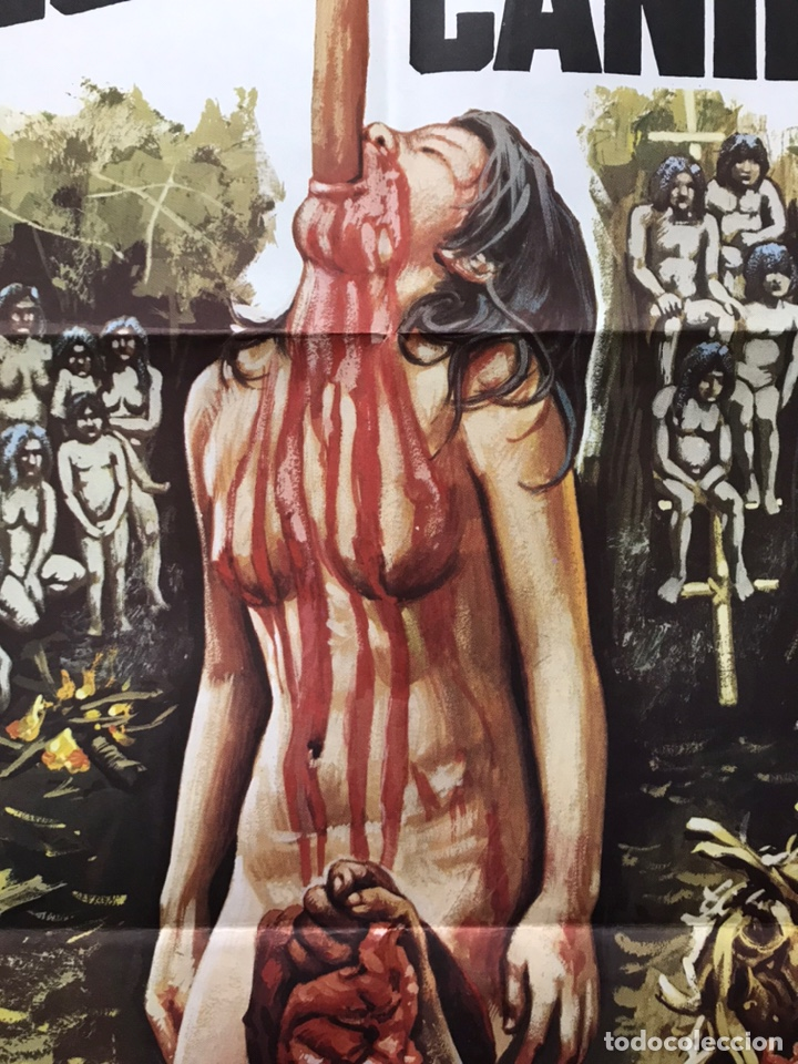 Cine: POSTER - HOLOCAUSTO CANIBAL, RUGGERO DEODATO - AÑO 1980 - Foto 13 - 205712411