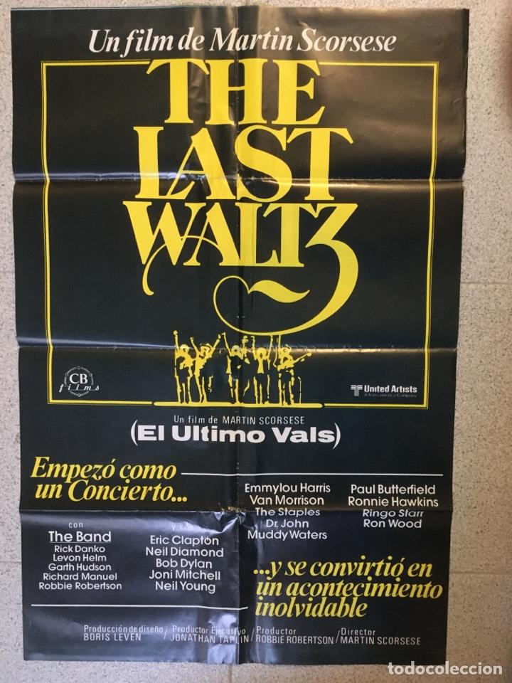 EL ULTIMO VALS (Cine - Posters y Carteles - Musicales)