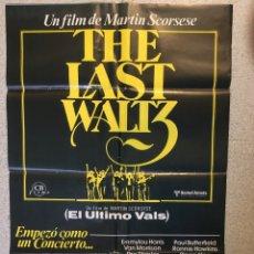 Cine: EL ULTIMO VALS. Lote 205734410