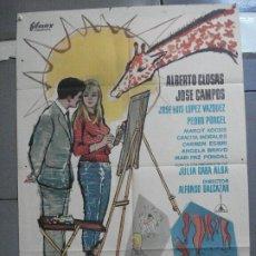Cine: CDO 2654 SOLTEROS DE VERANO ALBERTO CLOSAS LOPEZ VAZQUEZ POSTER ORIGINAL 70X100 ESTRENO. Lote 205768048
