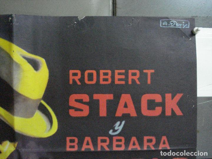 Cine: CDO 2655 CARA CORTADA ROBERT STACK ELIOT NESS POSTER ORIGINAL ESTRENO 70X100 - Foto 6 - 205768522