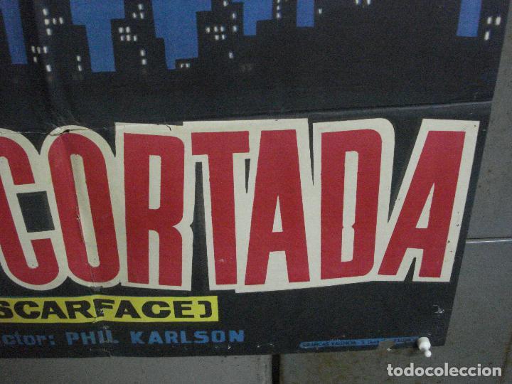 Cine: CDO 2655 CARA CORTADA ROBERT STACK ELIOT NESS POSTER ORIGINAL ESTRENO 70X100 - Foto 9 - 205768522