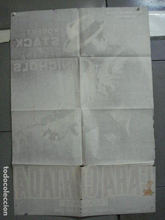 Cine: CDO 2655 CARA CORTADA ROBERT STACK ELIOT NESS POSTER ORIGINAL ESTRENO 70X100 - Foto 10 - 205768522