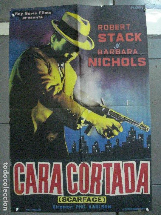 CDO 2655 CARA CORTADA ROBERT STACK ELIOT NESS POSTER ORIGINAL ESTRENO 70X100 (Cine - Posters y Carteles - Acción)
