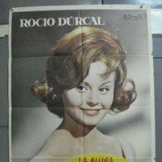 Cine: CDO 2669 LA CHICA DEL TREBOL ROCIO DURCAL POSTER ORIGINAL 70X100 ESTRENO. Lote 205772830