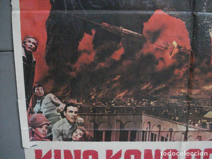 Cine: CDO 2675 KING KONG SE ESCAPA TOHO ISHIRO HONDA GODZILLA POSTER ORIGINAL 70X100 ESTRENO - Foto 4 - 205774732