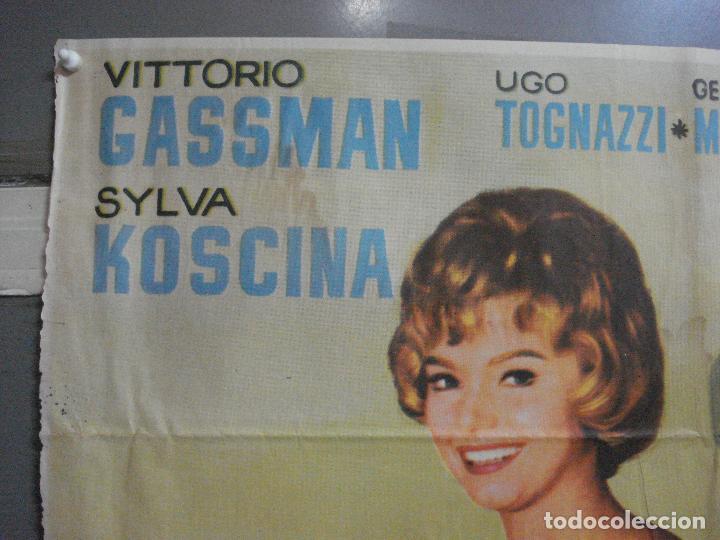 Cine: CDO 2694 LA LETRA VITTORIO GASSMAN SYLVA KOSCINA TOTO POSTER ORIGINAL 70X100 ESTRENO - Foto 2 - 205785592