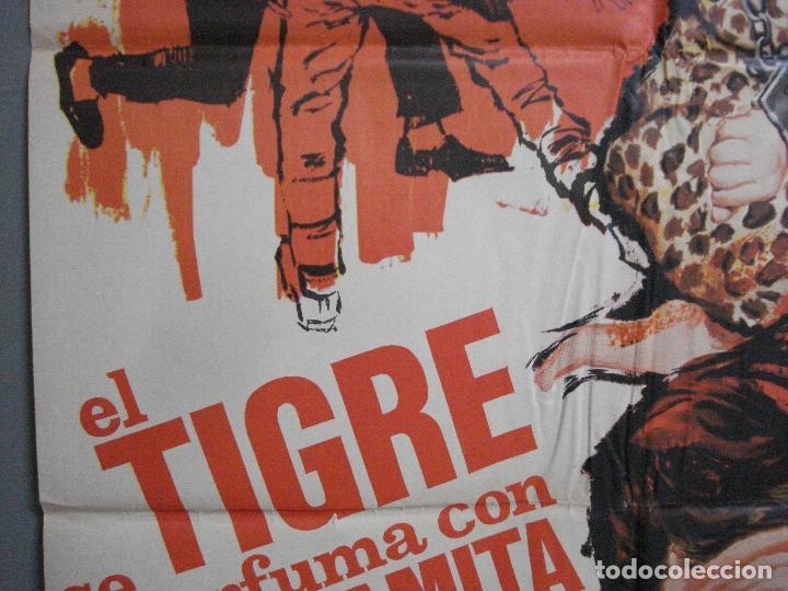 Cine: CDO 2696 EL TIGRE SE PERFUMA CON DINAMITA CHABROL ROGER HANIN MATAIX POSTER ORIGINAL 70X100 - Foto 3 - 205786150