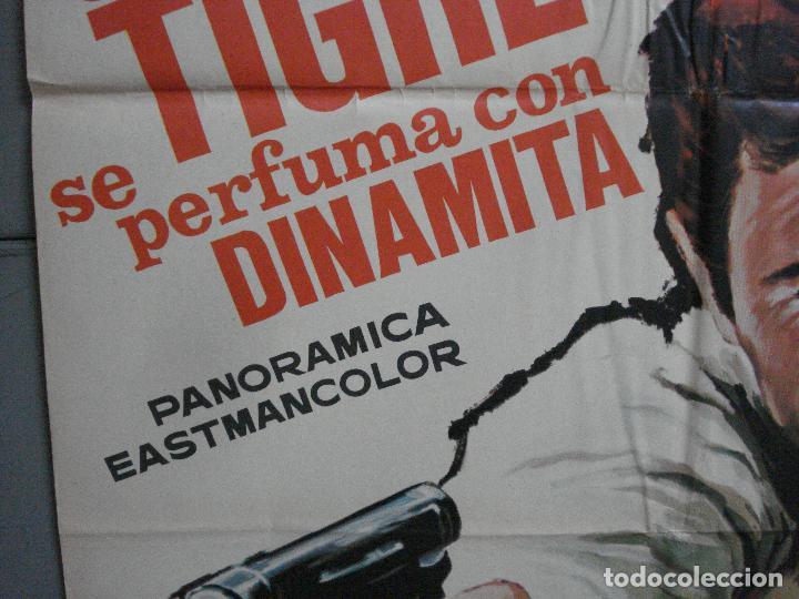 Cine: CDO 2696 EL TIGRE SE PERFUMA CON DINAMITA CHABROL ROGER HANIN MATAIX POSTER ORIGINAL 70X100 - Foto 4 - 205786150