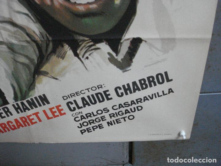 Cine: CDO 2696 EL TIGRE SE PERFUMA CON DINAMITA CHABROL ROGER HANIN MATAIX POSTER ORIGINAL 70X100 - Foto 9 - 205786150