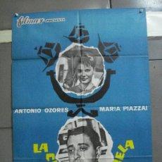 Cine: CDO 2700 LA CUARTA CARABELA ANTONIO OZORES POSTER ORIGINAL 70X100 ESTRENO. Lote 205787262