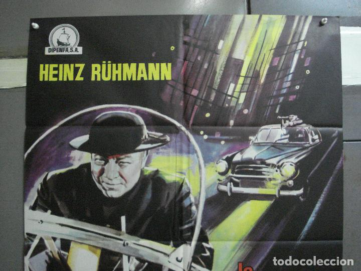Cine: CDO K343 LA PISTA DEL CRIMEN HEINZ RÜHMAN PADRE BROWN POSTER ORIGINAL 70X100 ESTRENO - Foto 2 - 205787977