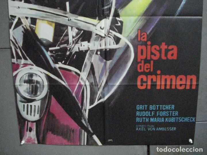 Cine: CDO K343 LA PISTA DEL CRIMEN HEINZ RÜHMAN PADRE BROWN POSTER ORIGINAL 70X100 ESTRENO - Foto 3 - 205787977
