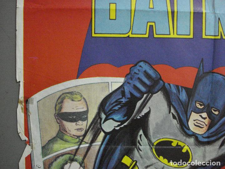 Cine: CDO 2705 BATMAN ADAM WEST COMIC TV SERIES POSTER ORIGINAL ESTRENO 70X100 - Foto 3 - 205788778