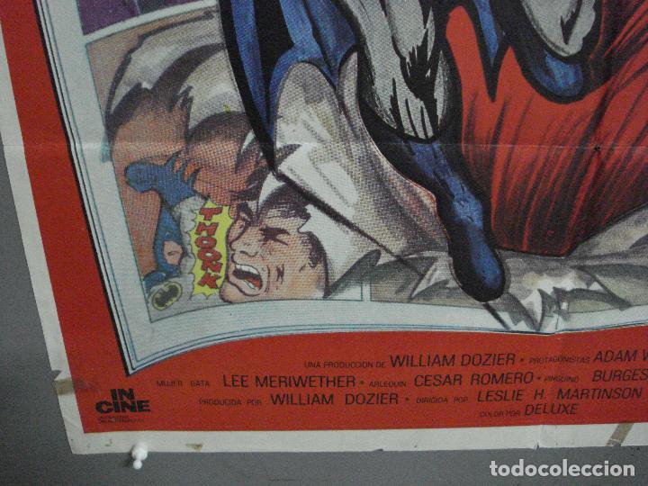 Cine: CDO 2705 BATMAN ADAM WEST COMIC TV SERIES POSTER ORIGINAL ESTRENO 70X100 - Foto 6 - 205788778