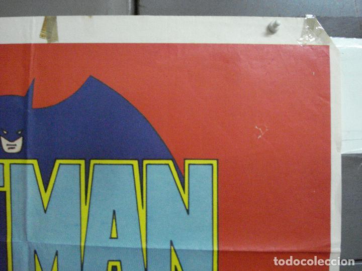 Cine: CDO 2705 BATMAN ADAM WEST COMIC TV SERIES POSTER ORIGINAL ESTRENO 70X100 - Foto 7 - 205788778