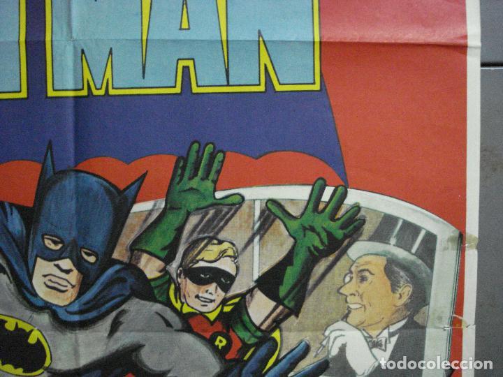 Cine: CDO 2705 BATMAN ADAM WEST COMIC TV SERIES POSTER ORIGINAL ESTRENO 70X100 - Foto 8 - 205788778