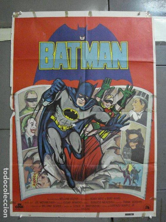 CDO 2705 BATMAN ADAM WEST COMIC TV SERIES POSTER ORIGINAL ESTRENO 70X100 (Cine - Posters y Carteles - Ciencia Ficción)