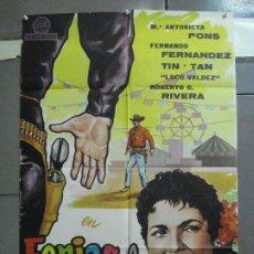Cine: CDO 2715 FERIAS DE MEXICO MARIA ANTONIETA PONS TIN TAN POSTER ORIGINAL 70X100 ESTRENO. Lote 205791380