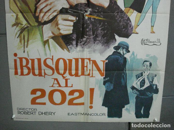 Cine: CDO 2721 BUSQUEN AL 202 DIANA DORS ROBERT DHERY POSTER ORIGINAL 70X100 ESTRENO - Foto 3 - 205792753