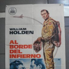 Cine: CDO 2727 AL BORDE DEL INFIERNO WILLIAM HOLDEN CIFESA POSTER ORIGINAL 70X100 ESTRENO. Lote 205794410