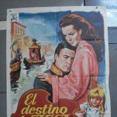 Cine: CDO 2738 EL DESTINO DE SISSI ROMY SCHNEIDER JANO POSTER ORIGINAL 70X100 ESPAÑOL R-70. Lote 205798018