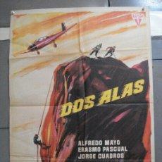 Cine: CDO 2743 DOS ALAS ALFREDO MAYO PASCUAL CERVERA ALBERICIO POSTER ORIGINAL ESTRENO 70X100. Lote 205798897