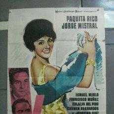 Cine: CDO 2745 VENTOLERA PAQUITA RICO JORGE MISTRAL POSTER ORIGINAL 70X100 ESTRENO. Lote 205799192