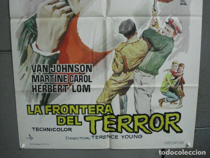 Cine: CDO 2753 LA FRONTERA DEL TERROR VAN JOHNSON MARTINE CAROL POSTER ORIGINAL 70X100 ESTRENO - Foto 3 - 205800753