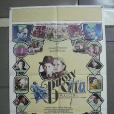 Cine: CDO 2768 BUGSY MALONE JODIE FOSTER ALAN PARKER POSTER ORIGINAL ARGENTINO 75X110. Lote 205803681