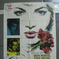 Cine: AAJ69 CARMEN LA DE RONDA SARA MONTIEL MAC POSTER ORIGINAL 70X100 ESTRENO. Lote 205804673