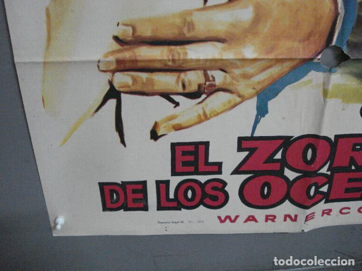 Cine: AAJ70 EL ZORRO DE LOS OCEANOS JOHN WAYNE LANA TURNER MONTALBAN POSTER ORIGINAL 70X100 ESTRENO - Foto 5 - 205805241