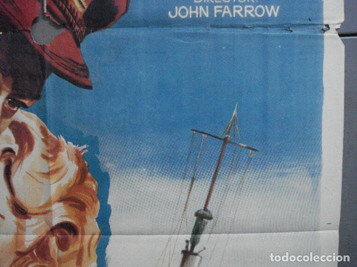 Cine: AAJ70 EL ZORRO DE LOS OCEANOS JOHN WAYNE LANA TURNER MONTALBAN POSTER ORIGINAL 70X100 ESTRENO - Foto 7 - 205805241